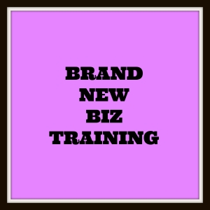 BRAND NEW BIZ TRAINING